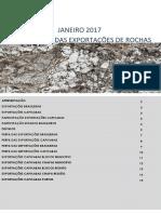 Centrorcohas, 2017 - Informativo Das Exportações de Rochas