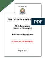 PhD-Policies -amritha