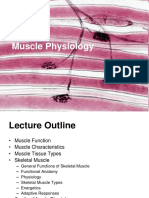 Muscle Physiology -1