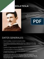 Presentación Nikola Tesla