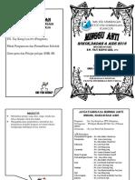 Minggu Anti Dadah (Buku Program)