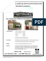 5838 Overhill Drive | for Lease