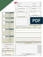 Character Sheet Fillable
