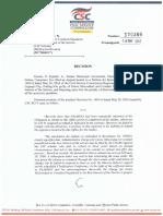CSC Resolution No. 170386