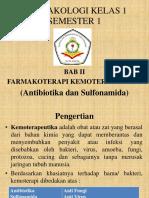 FARMAKOLOGI FARMAKOTERAPI KEMOTERAPIKA KELAS 1 SEMESTER 1.ppt