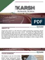 Choose Utkarsh W Beam Crash Barrier Manufacturer