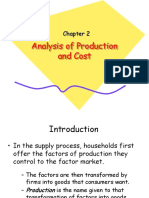 Chapter 2_Analysis of Production and Cost