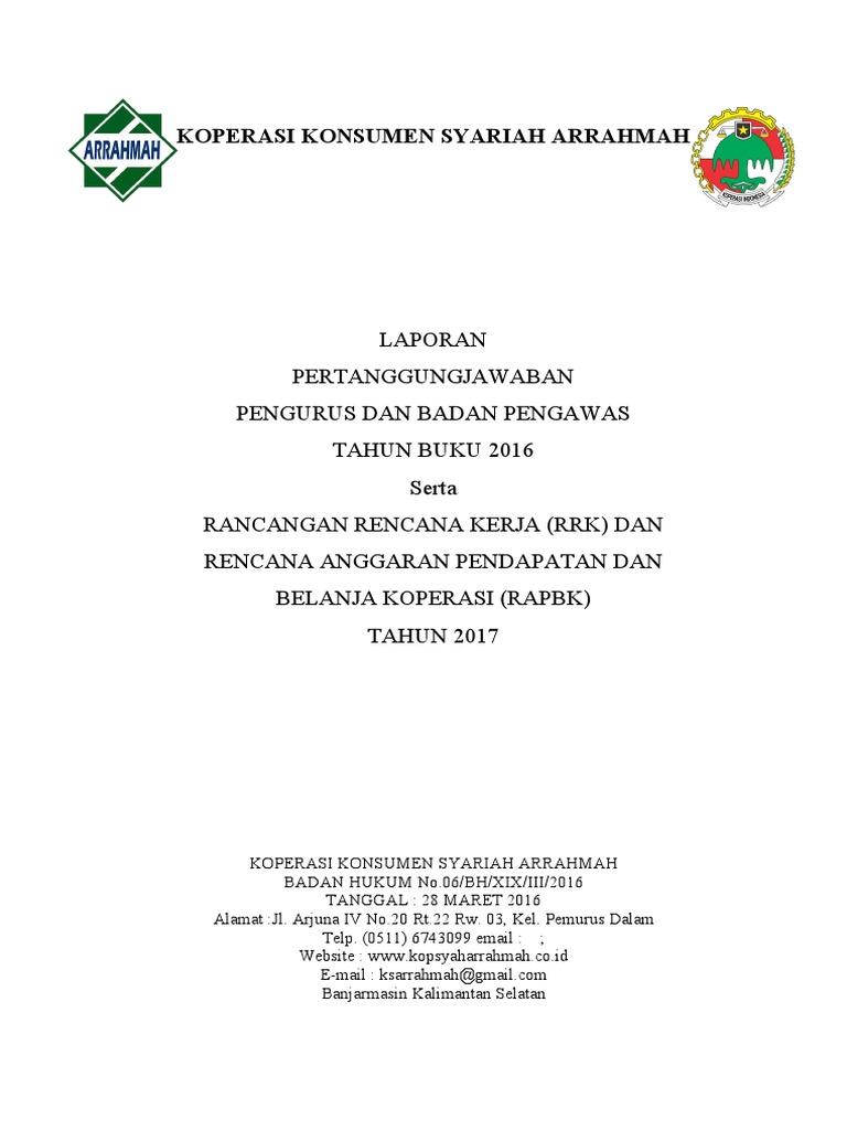 Laporan Rat Arrahmah 2016 Fix