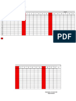 Format Absensi Guru Barcode Otomatis Excel