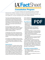Factsheet Consultations