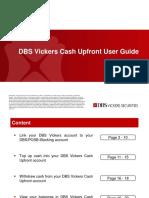 Cash Upfront User Guide