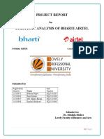 Strategic Analysis of Bharti Airtel