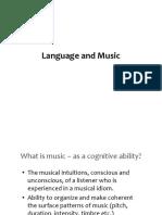 Lang and Music