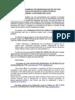 ACTA DE LA ASAMBLEA DE PROFESIONALES DEL SECTOR AUDIOVISUAL EN EVENTOS Y ESPECTÁCULOS 14E @ Madrid