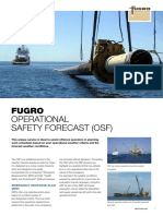 Fugro Operational Safety Forecast (Osf)