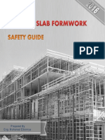 Concrete Slab Formwork - Safety Guide