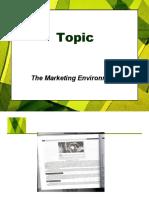 Marketing Environment 1