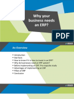 Why Your Business Needs an ERP