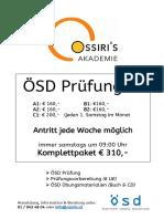 Ösd Prüfungen Info