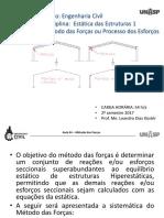 Aula 04 - Estatica 1 - Método Das Forças