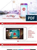 AdPlay Video Inventory Overview