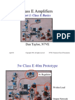 Class E Amplifiers
