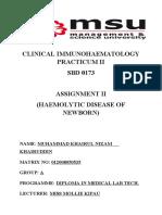 Assign Immuno II HDN