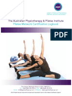 APPI - MATWORK Certification Logbook (Pilates Clinico APPI)