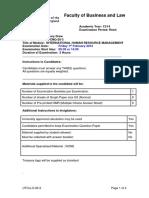 Examination IHRM 2014.docx