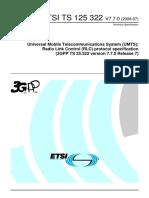 3GPPTS 25.322 RLC Protocol Specification-ts_125322v070700p