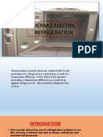 Thermo ElectricRefrigeration New