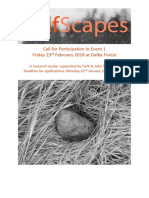 SelfScapes CFP for Dalby