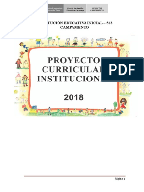 Pci De Ie I Tahuana 2017 Educación Primaria Educación