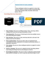 Data Mining Sem 2 Notes