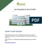 Top 10 Private Hospital in West Delhi - Lazoi