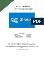 Proposal Pocari Futsal Championship