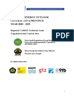 Central Java Energy Demand