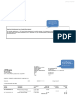 Billing Statement Sample