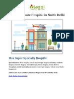 Top 10 Private Hospital in North Delhi - Lazoi The Life