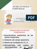 Operatoria en Piezas Temporales (1)