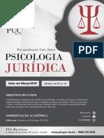 Psicologia Jurídica. Curso de Especialização. PUC-Rio 2018