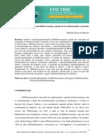 ARTIGO_MORAES_2015_A Interdisciplinaridade Da Biblioteconomia a Partir Da Sua Historicidade Curricular