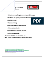 1500deg.c. Furnace Operating Manual