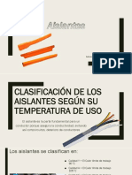 Aislantes Grupo3 Bernal Cherrez Ñauta Diapositivas