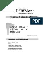 America Latina y Colombia en El Medio Siglo