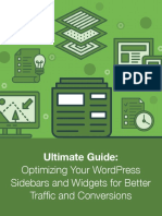 Ultimate Guide Optimizing WordPress Sidebar Widgets