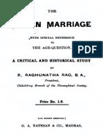 Aryan Marriage Raghunatha Rao R._text