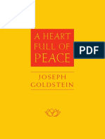 Joseph Goldstein - Heart Full of Peace