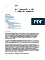 Higher Education Partnership Applicant Guidelines Final
