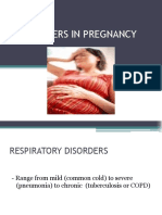 Disorders in Pregnancy